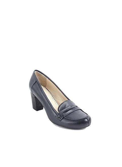 G.Ö.N. Topuklu Ayakkabı Lacivert